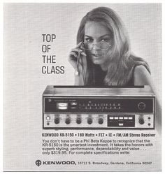 Interesting Stereo Ads? Post a pic for memory lane's sake. - Page 115 - AudioKarma.org Home Audio Stereo Discussion Forums    Kenwood KR 5150
