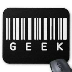 Geek Barcode Mouse Pads by shakeoutfittersgeek