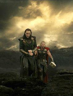 Thor 2: The Dark World; I love this scene