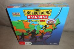 New The Underground Railroad The Escape to Freedom board Game Series 2008 Find me at www.dandeepop.com