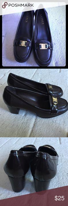 Ralph Lauren Penny Loafer Pumps Ralph Lauren Pumps with a Penny Loafer style. Never worn! Ralph Lauren Shoes Heels