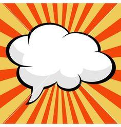 Pop art comic speech bubble vector by PiXXart on VectorStock® Fiesta Pop Art, Comic Book Paper, Comic Books, Comics Vintage, Vintage Art, Comic Bubble, Pop Art Images, Pop Art Women, Pop Art Design