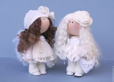Купить Ангелочек - белый, ангелочек, ангел-хранитель, кукла ручной работы, кукла в подарок