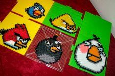 Angry Birds Perler by genjiworks.deviantart.com on @deviantART