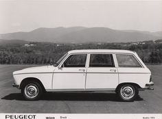 Peugeot 204 Break - 1974