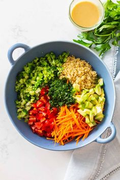 Cooked Kale And Quinoa Recipes.Avocado Quinoa Salad Recipe Buckwheat Stir Fry With Kale Peppers Artichokes . 36 Kale Recipes That Will Add A Healthy Twist To Dinner. Home and Family Quinoa Salad Recipes Easy, Easy Salads, Healthy Salads, Easy Healthy Recipes, Healthy Cooking, Cooking Avocado, Delicious Recipes, Vegan Recipes, Healthy Eating