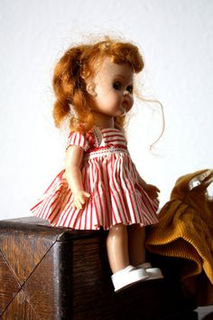 Vintage VOGUE GINNY Doll-  I always wrecked their hairdo!