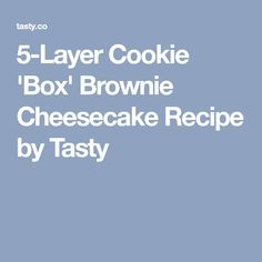 Cookie 'Box' Brownie Cheesecake Recipe by Tasty Cookie Dough Brownies, Box Brownies, Chocolate Chip Cookie Dough, Raspberry Swirl Cheesecake, Brownie Cheesecake, Cheesecake Recipes, Chocolate And Vanilla Cake, Easy Desert Recipes, Frozen Cookie Dough