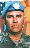 Army 1st Sgt. Joe J. Garza  Died April 28, 2003 Serving During Operation Iraqi Freedom  43, of Robstown, Texas; assigned to 1st Battalion, 30th Infantry Regiment based in Fort Benning, Ga.; killed when he was struck by a civilian vehicle after falling out of a Humvee that swerved to avoid a civilian vehicle in Baghdad.