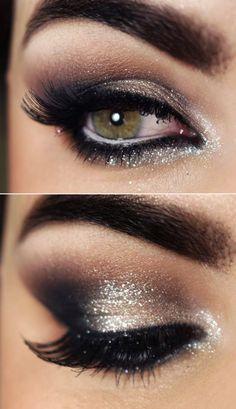 smokey shimmery eyes #tutorial