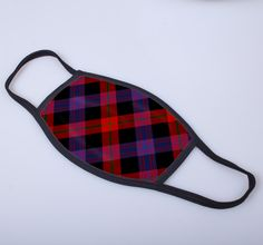 non medical face covering with Brown printed tartan  - only from ScotClans