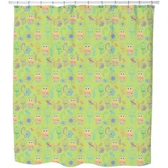 Uneekee Papageno Paradise Shower Curtain