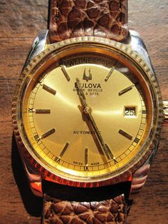 Bulova Accutron Super Seville Day Date by BestofFourSeasons, $70.00