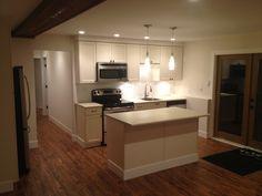 Basement suite facelift by Northern Concepts #basementsuite #renovation #rentalsuite #openconcept #smallspaces #remodel