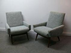 Rare Pair of Vintage Retro 50s 60s Rare Parker Knoll Armchair Mid Century 70s | eBay