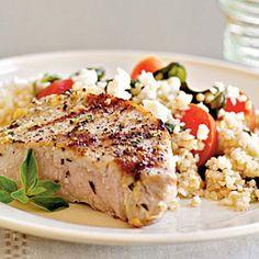 Pork Chops Oreganata | MyRecipes.com