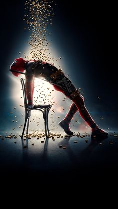"""Marvel Movies Wallpaper for iPhone from moviemania.io Ant-Man and the Wasp Phone Wallpaper Wallpaper for """"Deadpool Deadpool En Hd, Deadpool 2 Poster, Deadpool 2 Movie, Deadpool Funny, Dead Deadpool, Deadpool Photos, Deadpool Costume, Deadpool Hd Wallpaper, Heroes Wallpaper"""