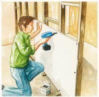 photos D. Klecka Pour créer vous-même une cloison, le plus simple est d'utiliser des plaques de plâtre ou de Fermacell. Conseils de montage sur ossature bois, avec des tasseaux de section 40 x 40 mm minimum, préférables aux rails métalliques couramment...