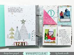 Designer Brenda Smith @idocumentlife is sharing some gorgeous pages of her December Album created with our #november2015 December  Documented kit  In this kit you can find amazing products like @pinkfreshstudio  and @kjstarre papers and embellishments @pinkpaislee @official_basicgrey #hipkits #kitclub #scrapbooking #december2015 #decemberdocumentedkit #christmas #christmasmemories