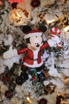 Mickey Mouse Ornament for Your Christmas Tree, Available from Disney Floral & Gifts