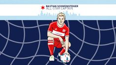 #MLS  Bastian Schweinsteiger named captain of MLS All-Stars