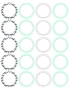 photograph regarding Printable Round Labels named 17 Easiest Spherical Labels and Spherical Label Template Printables