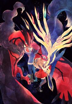 Check out the three awesome Yveltal cards from the Pokemon XY set. Yveltal and Yveltal Ex! Pokemon X And Y, Pokemon Pins, Pokemon Fan Art, Pokemon Games, Pokemon Go, Pokemon Stuff, Calem Pokemon, Gijinka Pokemon, Pikachu