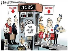 Jobs under Bozo Obummer
