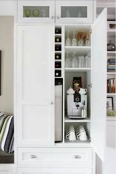 Cupboard storage