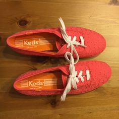 Keds New without tag Keds! In great shape and they have never been warn! I got them for Christmas last year and they were too small. Please comment if you have any questions! keds Shoes Sneakers