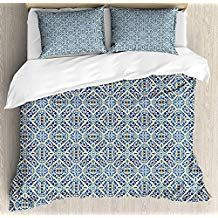 Teal Cinnamon Ambesonne Medieval Duvet Cover Set Heraldic Design from Middle Ages Coat of Arms Crown Lions and Swirls Decorative 2 Piece Bedding Set with 1 Pillow Sham Twin Size