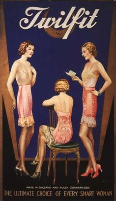 #vintage #advertisement #1920s #underwear