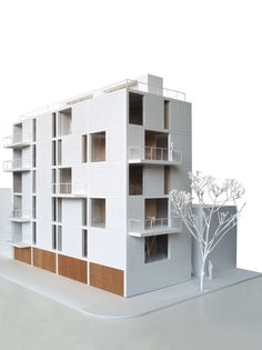 Apartment building in México City.