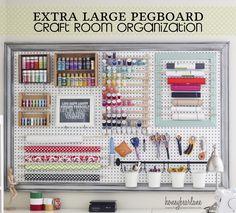 20 Inspiring Pegboard Creative Spaces!