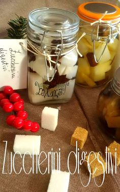 zuccherini digestivi Homemade Christmas Gifts, Homemade Gifts, Merry Christams, Gelato Homemade, Fun Cooking, Antipasto, Cocktail Drinks, High Tea, Holidays And Events