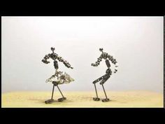 This stop motion dancing animation was done using 24 fps. The difference between 12 fps and 24 is very noticeable as you can tell from this video. 24 fps is very smooth and almost looks like footage recorded with a video camera. The 12 fps animation is shaky and the transitions from frame to frame are very noticeable.