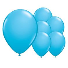 8 Sky Blue 12 Inch Latex Balloons | Partyrama.co.uk   Read the full post here: http://blog.partyrama.co.uk/?p=856