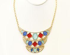 Bejeweled Necklace Set