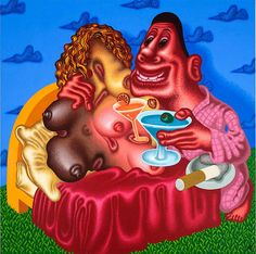 Peter Saul (Contemporary Art Daily)