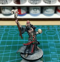 Zombicide black plague - necromancer