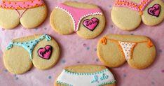 9 dicas de biscoitos personalizados para chá de lingerie