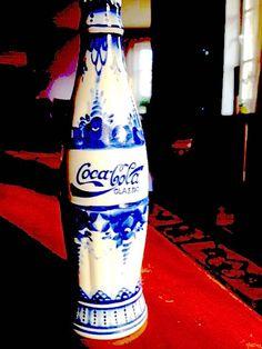 Rare Porcelain Coca-Cola Bottle