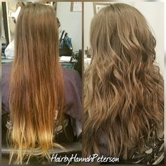 """23 Likes, 4 Comments - Hannah Hansen (@hairbyhannahpeterson) on Instagram: """"Before and after! She hasn't had a haircut in 6 years so it was time for a change!…"""""""
