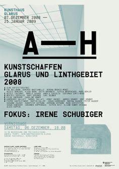 Elektrosmog | poster for Kunsthaus Glarus
