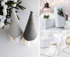 Una Navidad en blanco   Decoración