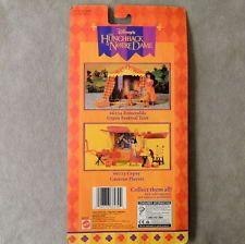 Disney Barbie Doll 1990s HUNCHBACK ESMERALDA Fashion Pak Dress Festival Mattel