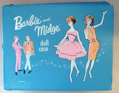 My older sister had both a Barbie and Midge doll. I had the Skipper and Skooter dolls. We spent many hours playing together with our dolls!
