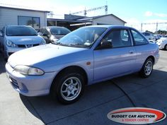Mitsubishi Mirage  For Sale  $3,500.00    Year:   1994  Manufacturer:   Mitsubishi  Model:   Mirage   Engine:   1298  Fuel Type:   Petrol  Transmission:   Automatic  Mileage:   102495 km  Exterior Colour:   Blue  Doors:   3  Body Style:   Sedan  Stock #:   8522    Features:  Alarm, Alloy Wheels, Rear Spoiler, Central Locking, Power Windows, Power Steering