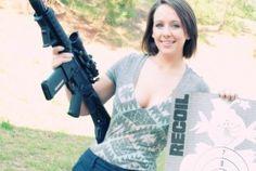 Girl + Gun = <3