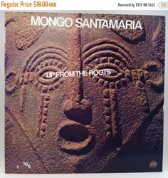 SUMMER SALE Mongo Santamaria Up From The Roots Vinyl Record LP Atlantic 1972 Latin Jazz Afro Cuban Soul Funk Soul by vintagebaron on Etsy